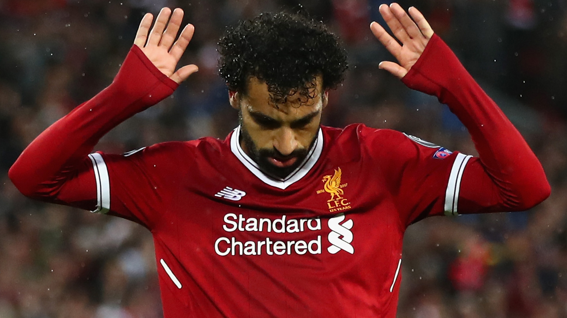 Mohamed Salah Liverpool Roma Champions League