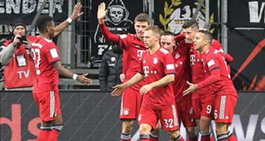 Bundesliga Eintracht Frankfurt FC Bayern München