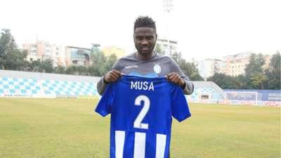 Musa Mohammed of Gor Mahia and KF Tirana.