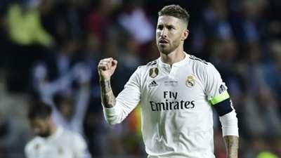 Sergio Ramos Real Madrid UEFA Super Cup 2018