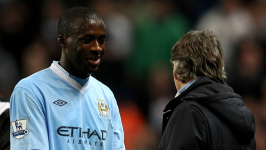 Mancini loved my dedication but City blocked Inter move - Yaya Toure