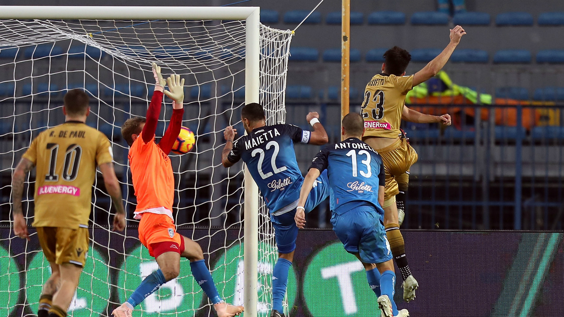 Provedel Pussetto Empoli Udinese