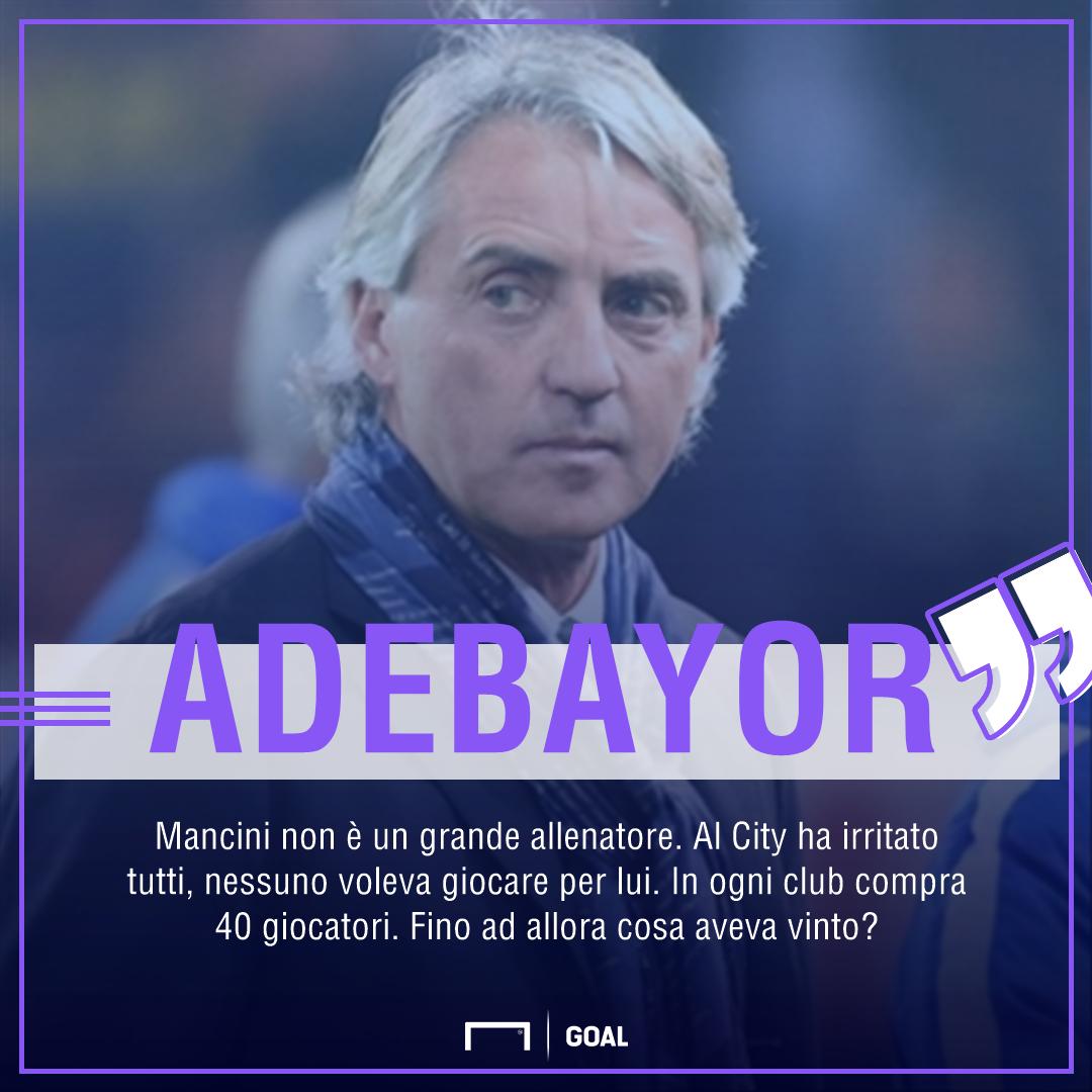 Adebayor Mancini PS