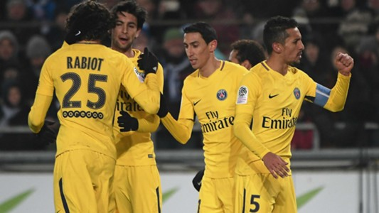 Kylian Mbappe Strasbourg PSG Ligue 1 02122017