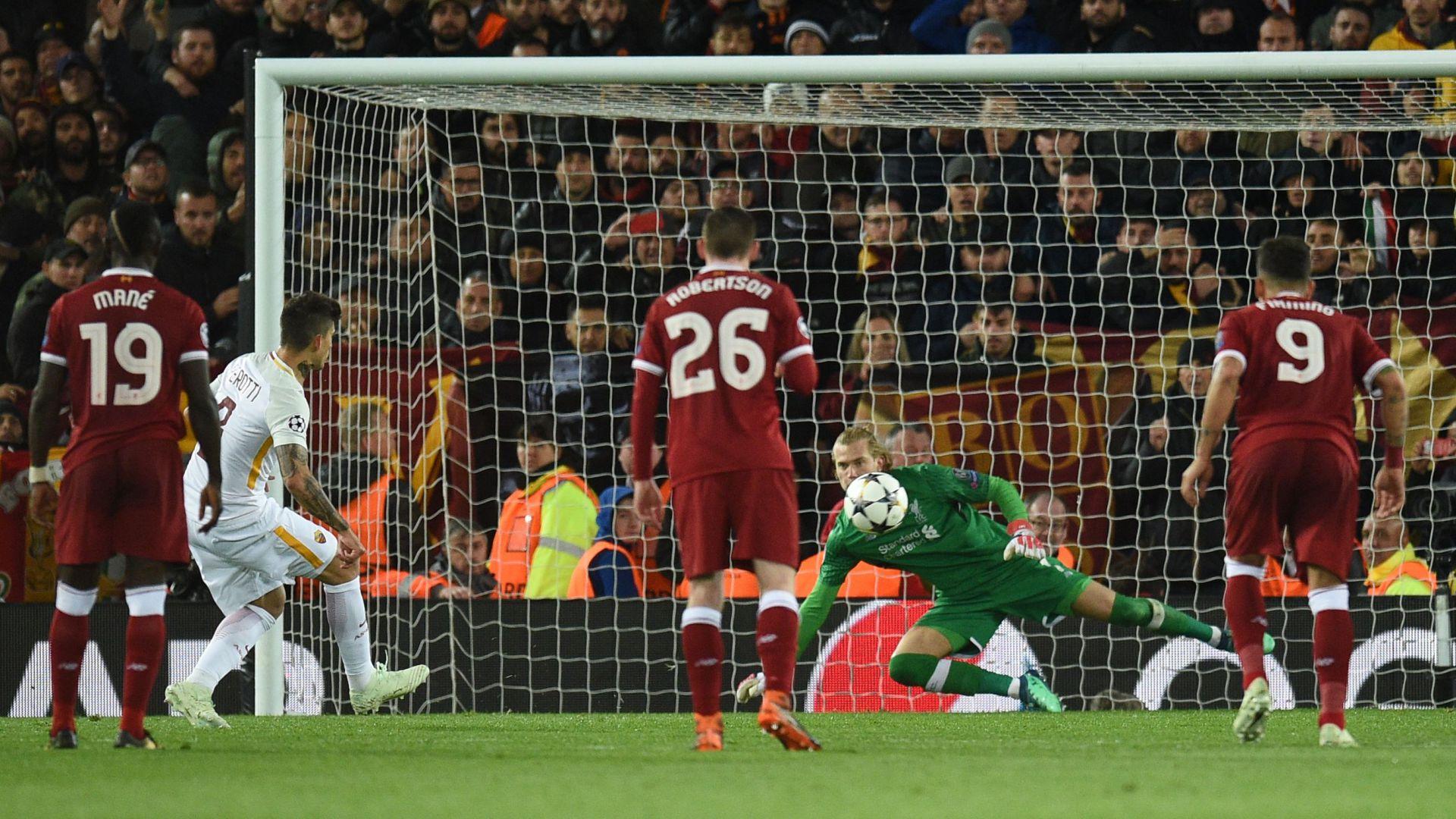 Diego Perotti Liverpool Roma