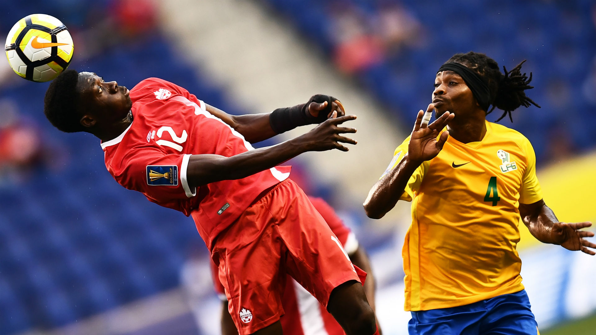 Alphonso Davies Rhudy Evens Canada French Guiana Gold Cup