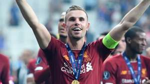 'I think it's too early' - Henderson plays down Liverpool's Champions League favourite talk