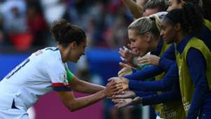 Carli Lloyd USWNT celebration 2019
