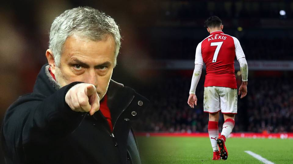 Jose is again! Alexis Sanchez signing gives Mourinho his first victory over Pep