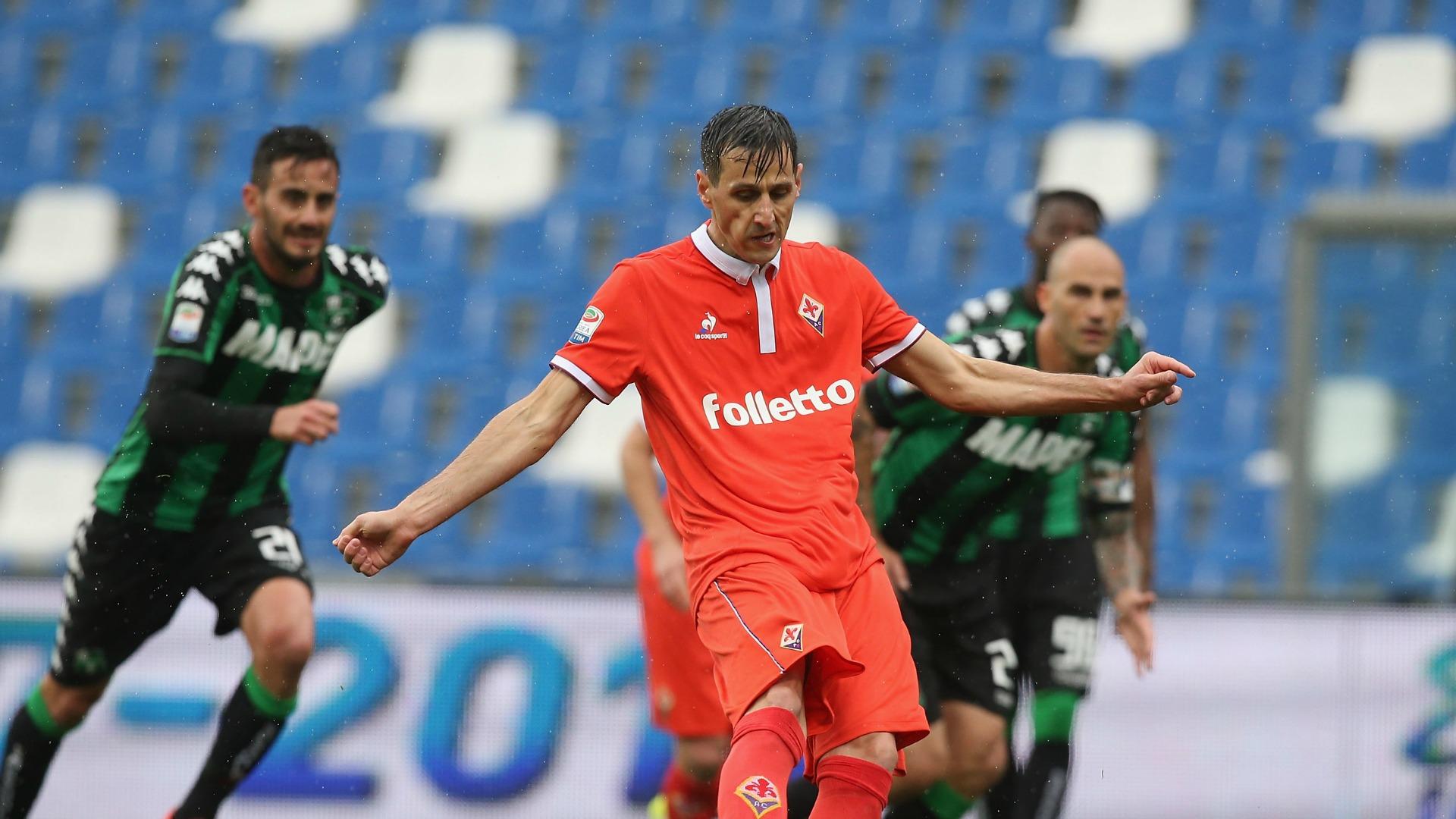 Nikola Kalinic Sassuolo Fiorentina