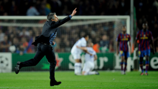 Jose Mourinho Champions League Inter Barcelona 2010