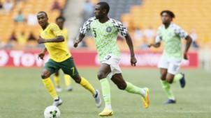 Thembinkosi Lorch, Jamilu Collins - South Africa vs. Nigeria