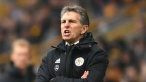 Claude Puel Leicester City 2018-19