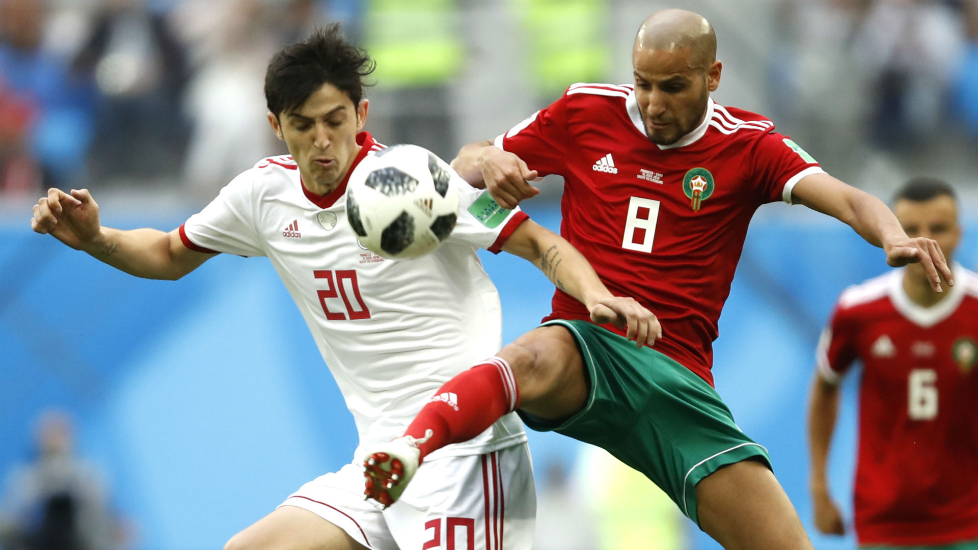 'What a game' – Twitter shocked by Morocco's defeat to Iran