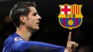 Alvaro Morata Barcelona