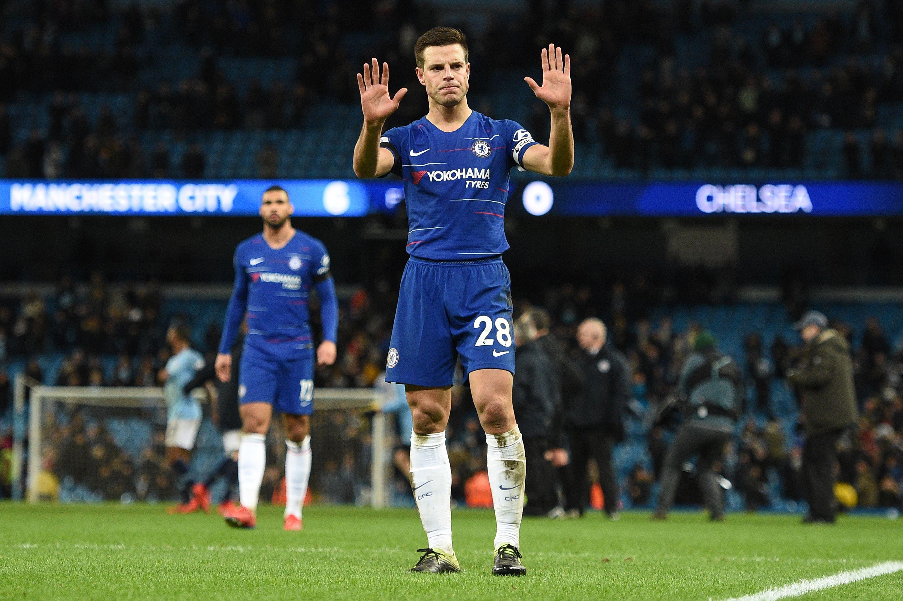 Cesar Azpilicueta Manchester City Chelsea Premier League 02/10/19