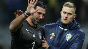 Buffon Italy Sweden