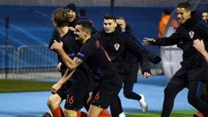 croatia spain - uefa nations league - celebration - jedvaj lovren - 15112018