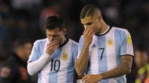 Lionel Messi Mauro Icardi Argentina