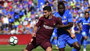 Luis Suarez Togo Dakonam Getafe Barcelona LaLiga 16092017