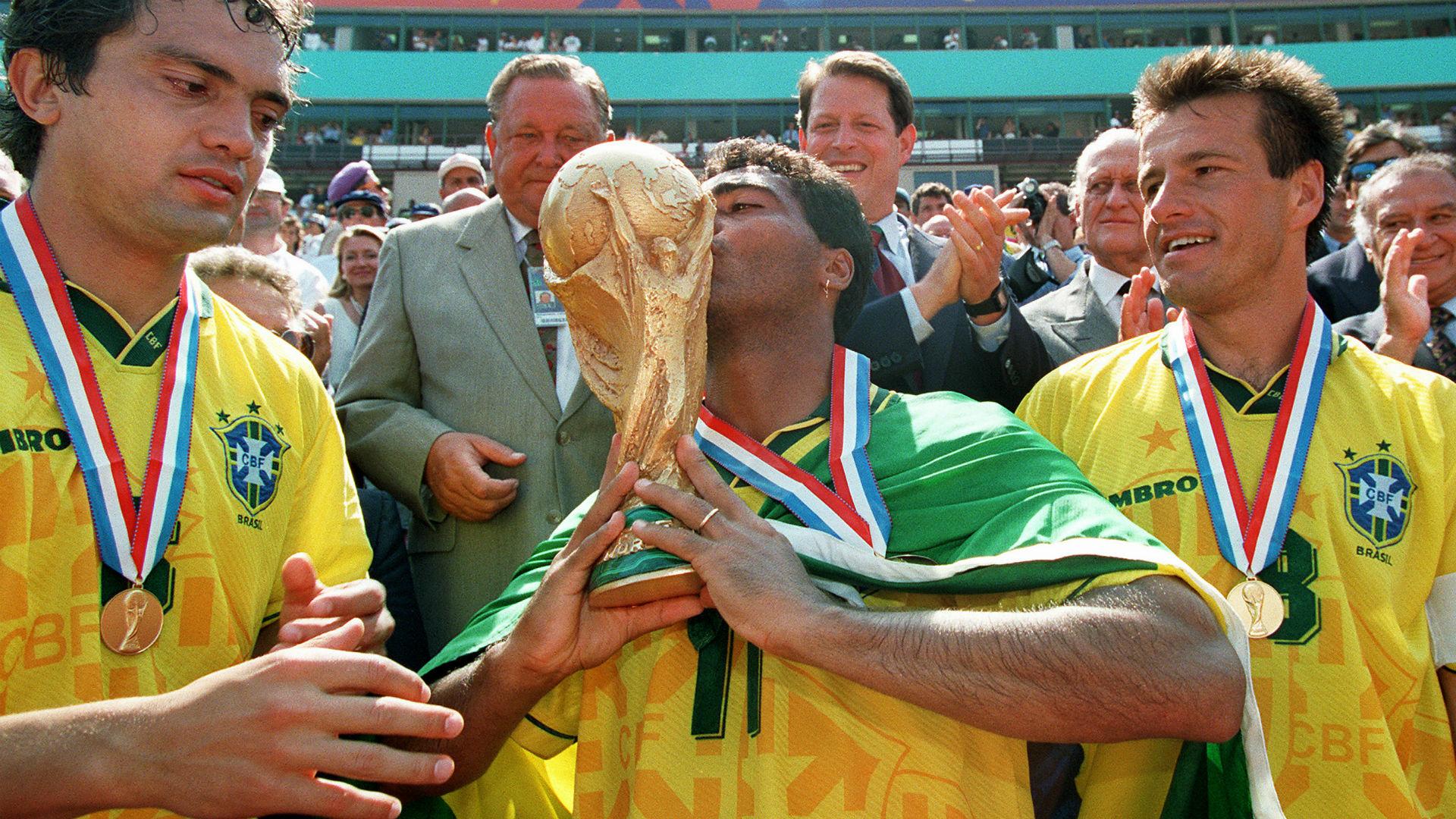 Branco Romário Dunga Copa do Mundo 1994