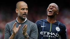 Pep Guardiola Raheem Sterling Manchester City 2018-19