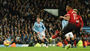 Anthony Martial Manchester City vs Manchester United Premier League 2018-19