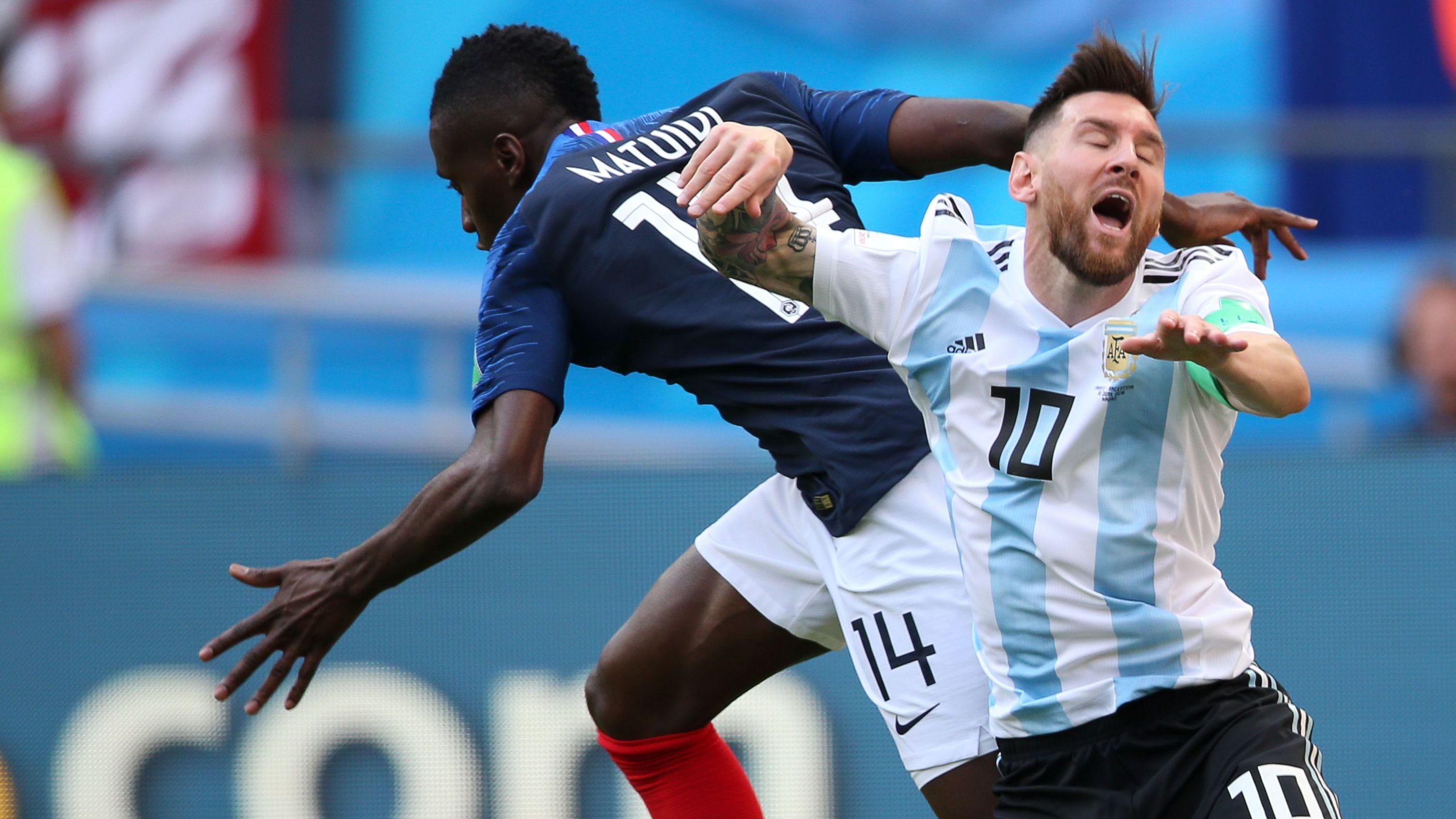 Matuidi Messi Francia Argentina
