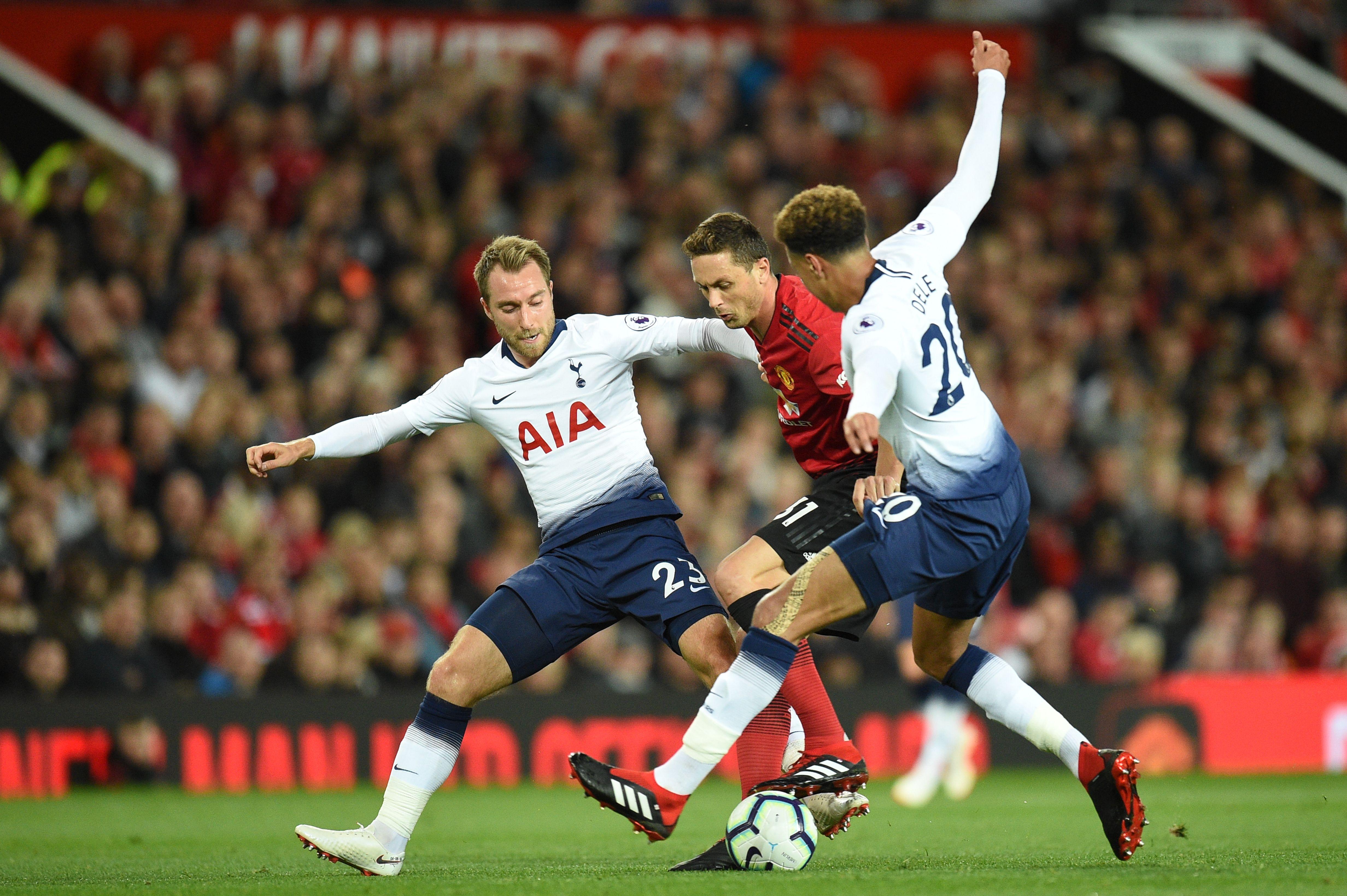 Manchester United Tottenham Premier League 2018-19