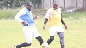 Mathare United defender George Owino.