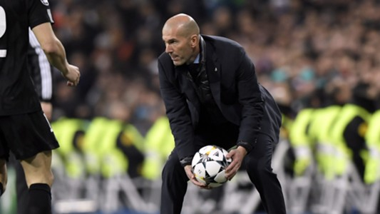 Zinedine Zidane Real Madrid PSG Champions League 14022018