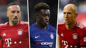 Ribery Hudson-Odoi Robben Split
