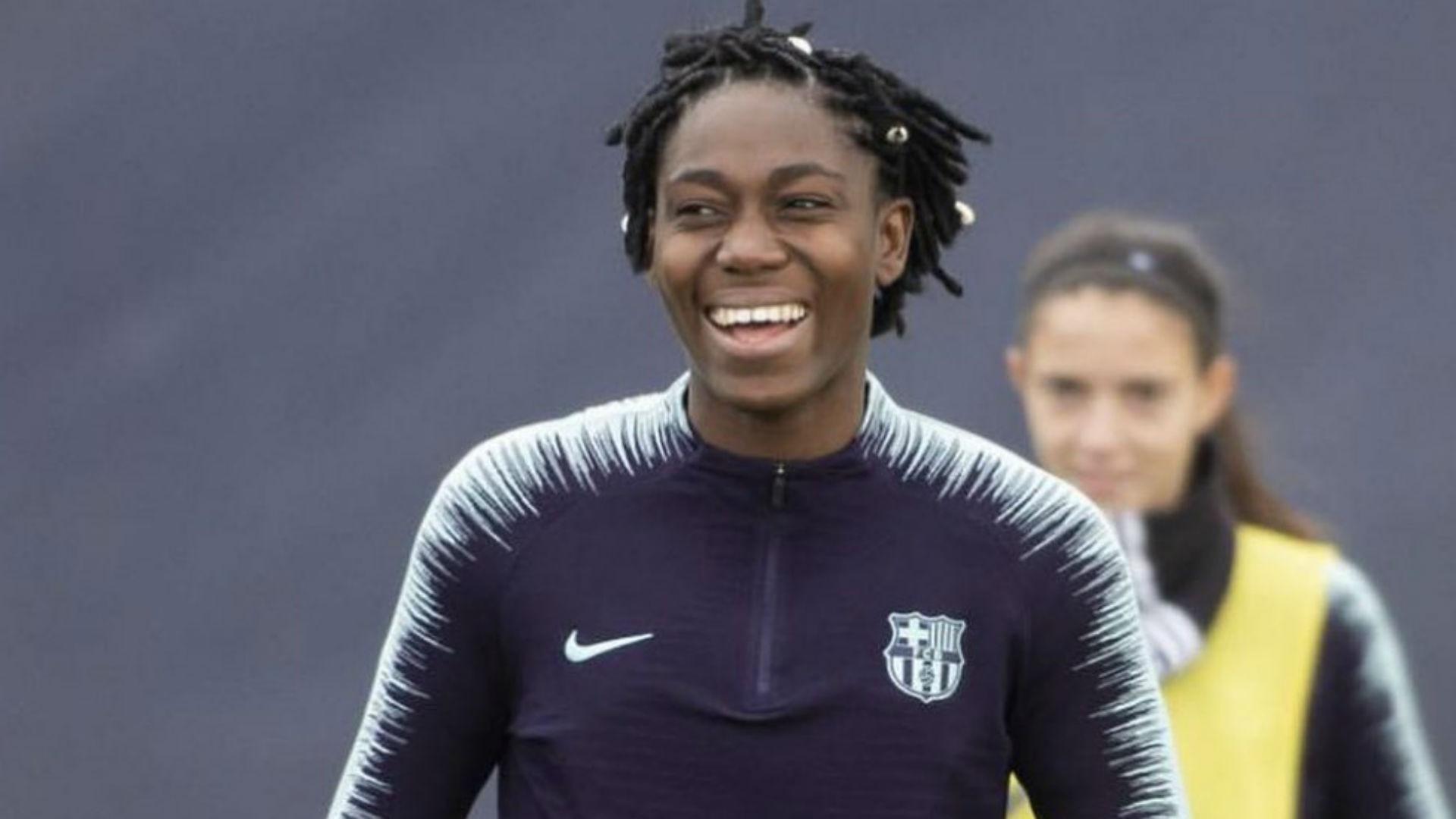 Oshoala Scores On FC Barcelona Debut