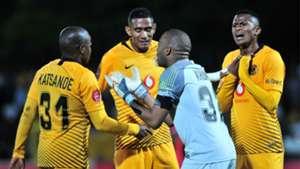Itumeleng Khune Willard Katsande Mario Booysen Siyabonga Ngezana of Kaizer Chiefs September 2018