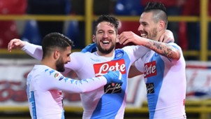 Mertens Bologna Napoli Serie A