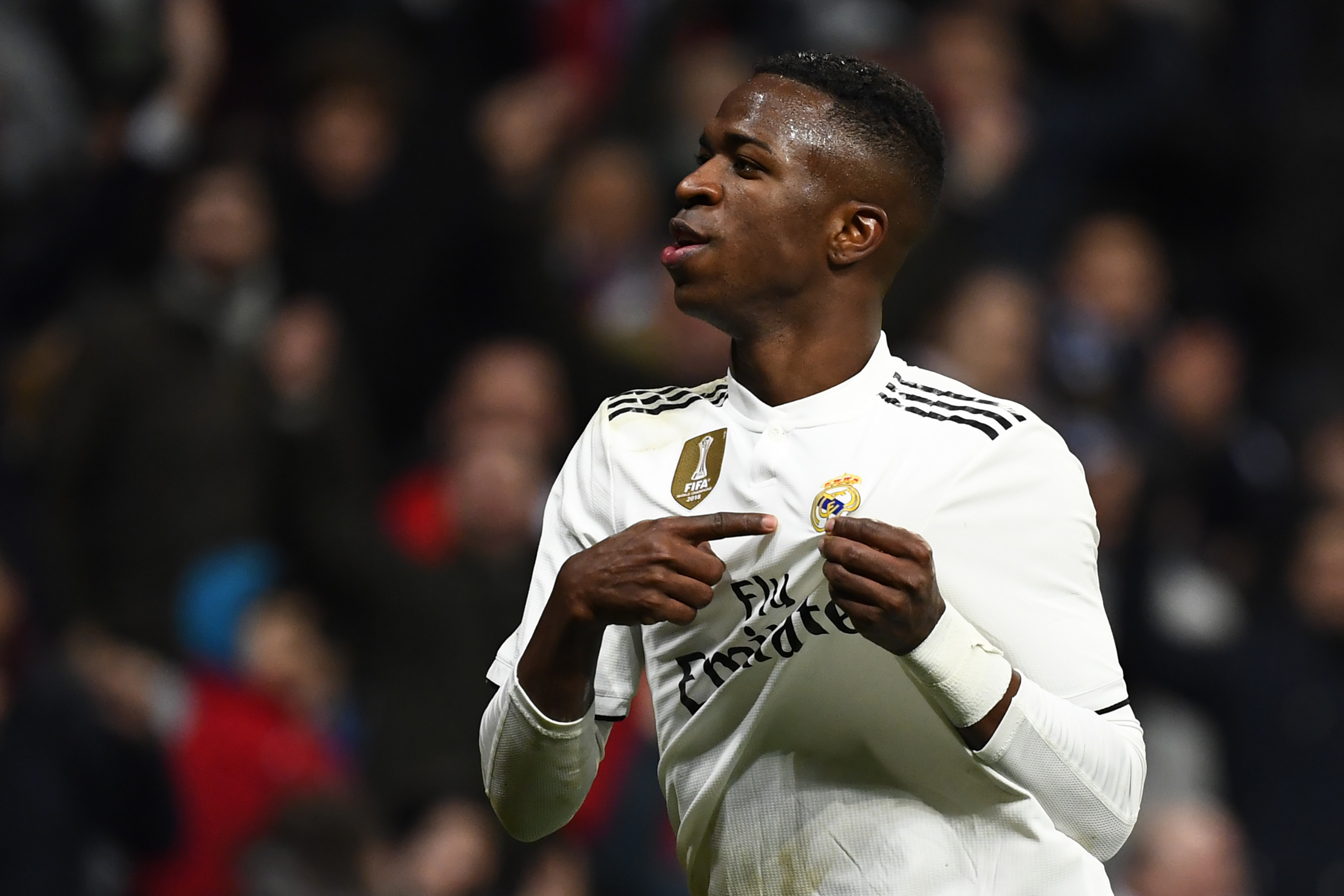 Real Madrid 3-0 Alaves: Vinicius Junior inspires home side to victory