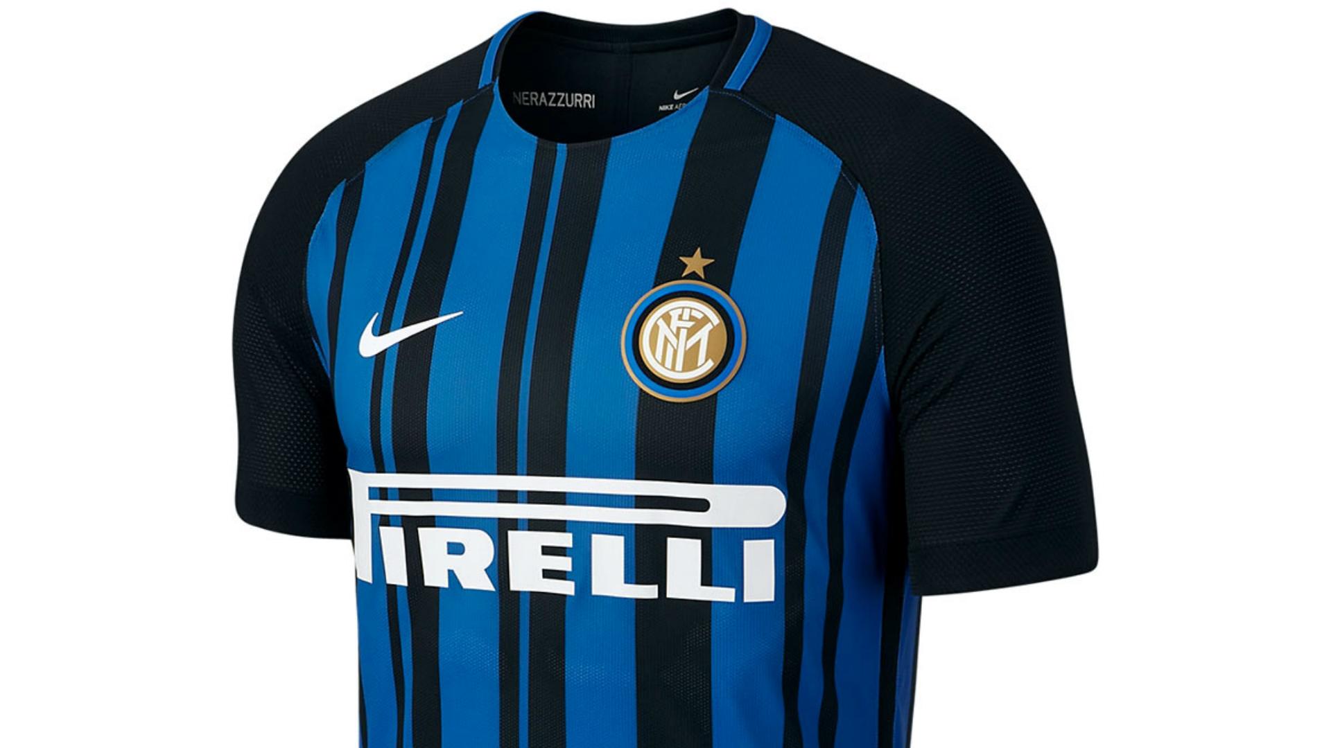 Maillot Inter Milan 2017-2018 home domicile