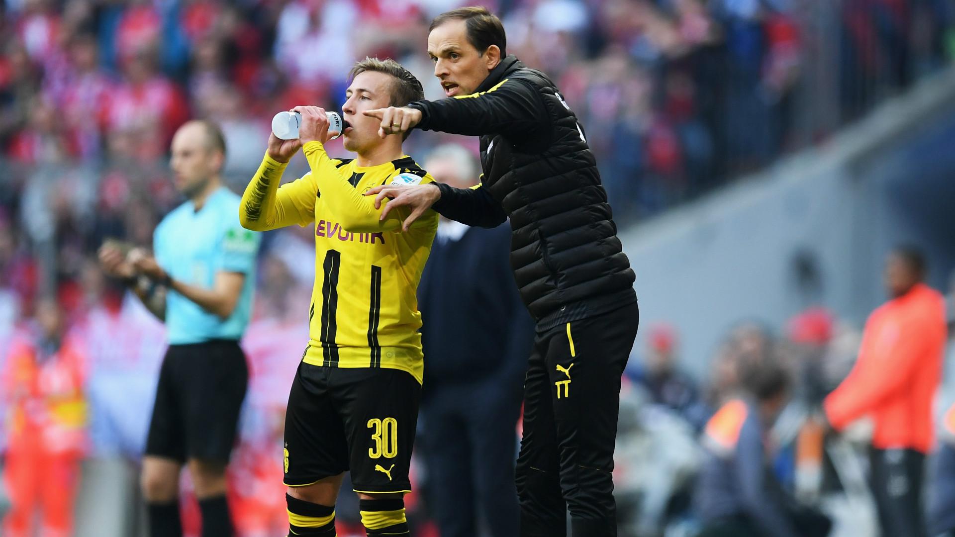 Felix Passlack Thomas Tuchel Borussia Dortmund 2017