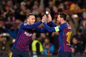 Arthur Melo & Lionel Messi