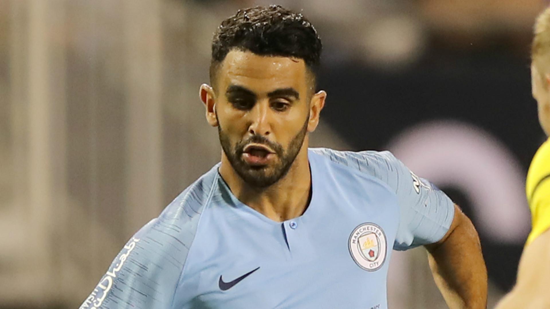 Maillot Domicile Manchester City Riyad Mahrez