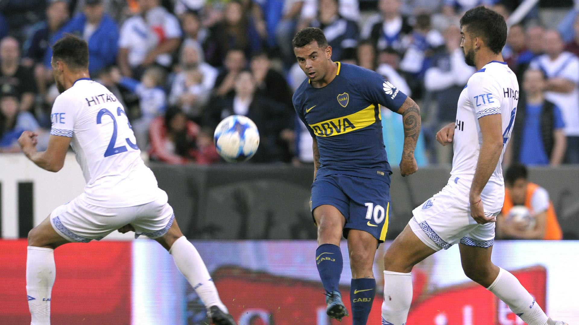 Edwin Cardona Velez Boca Fecha 4 Superliga Argentina