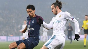 Gareth Bale Marquinhos PSG Real Madrid Champions League