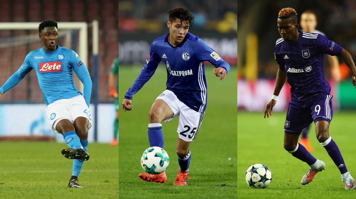 collage Afrika U20 Talente