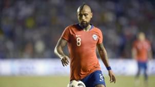 Arturo Vidal Selección chilena 161018