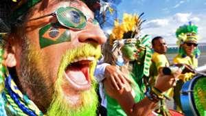 Torcida Brasil x Sérvia Copa Rússia 27 06 18