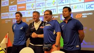 Islandia vs Indonesia Selection Konferensi Pers 10012018 - Heimir Hallgrimsson, Robert Rene Alberts
