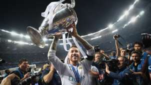 Sergio Ramos Real Madrid Champions League