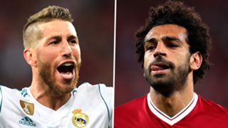 Sergio Ramos Mohamed Salah Real Madrid Liverpool 2017-18