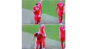 Hamdi Nagguez Tunisia vs Belgium World Cup 2018 Throw up