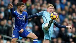 Eden Hazard Kevin De Bruyne Man City Chelsea
